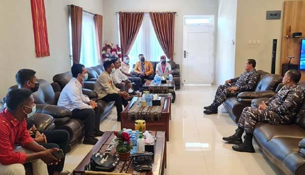 Kunjungi Kupang, KSAL Minta Para Tokoh Pemuda Pahami Nilai Strategis NTT