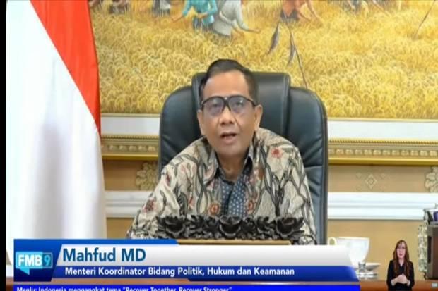 Mahfud MD Akan Kerahkan TNI Polri Amankan KTT G20 2022 di Bali