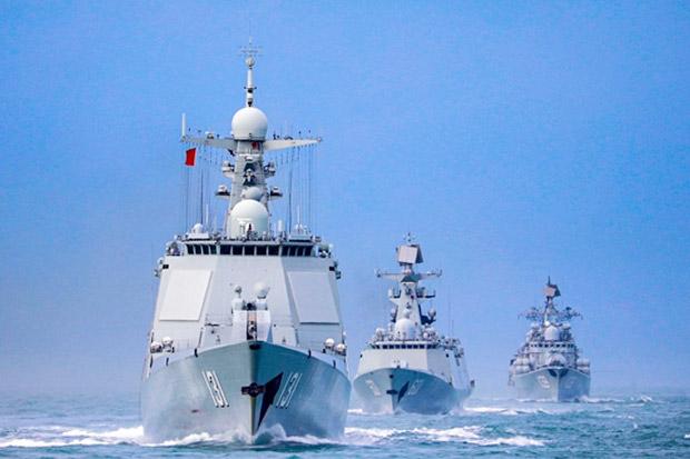 Armada Kapal Perang China Dilaporkan Berlayar Dekat Alaska, Balas Aksi AS?