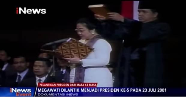Dua Menteri Perempuan di Pemerintahan Megawati, Nomor 1 Kembali Masuk Kabinet Era Jokowi