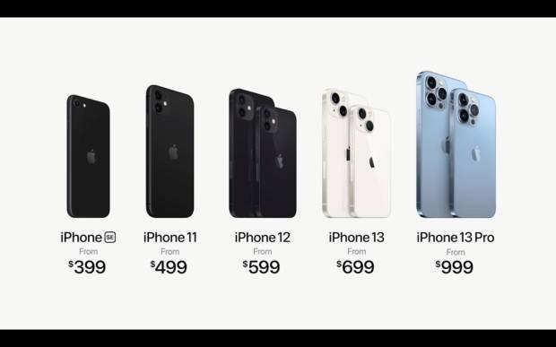 Jajaran iPhone 13 Baru Resmi Dirilis Harga Dimulai Rp9,9 Juta