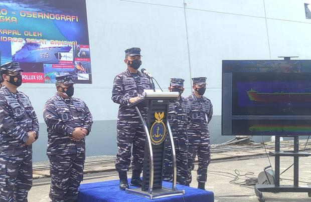 KRI Pollux-935 Temukan Bahaya Keselamatan Navigasi dan Pelayaran di Selat Bangka