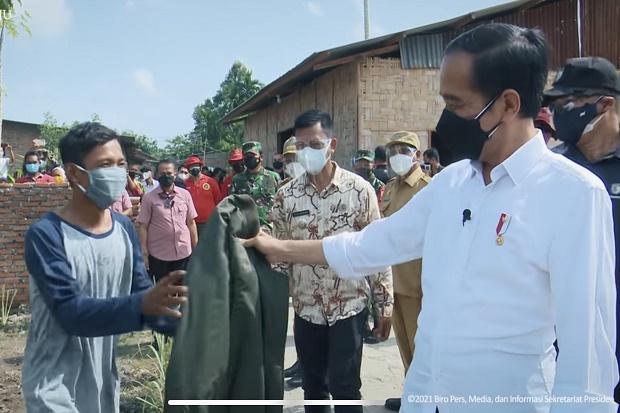 Dapat Jaket Bomber dari Jokowi, Sigit: Kenang-kenangan Seumur Hidup