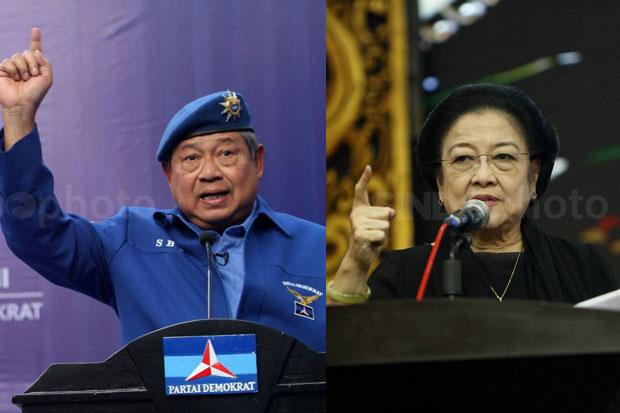 20 September 17 Tahun Lalu: SBY-JK Vs Megawati-Hasyim Muzadi di Putaran Kedua Pilpres 2004