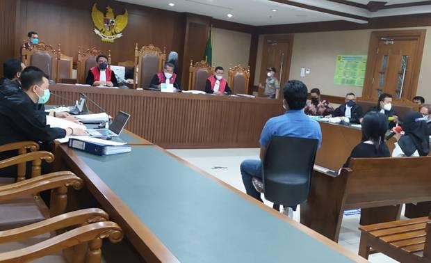Saksi Ungkap Stepanus Robin Temui Azis Syamsuddin 5 Kali, Rita 3 Kali