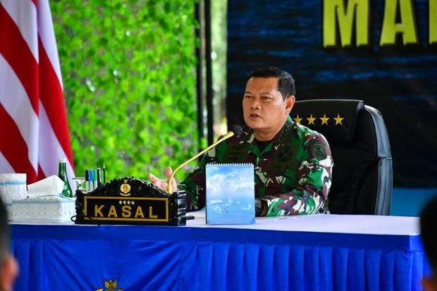 KSAL: Pejabat TNI AL Harus Berani Tampil di Depan, Bukan Jadi Pengikut