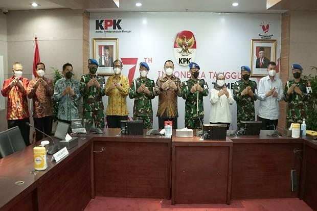 Tangani Kasus Korupsi, Puspom TNI-KPK Berencana Bentuk Tim Koneksitas