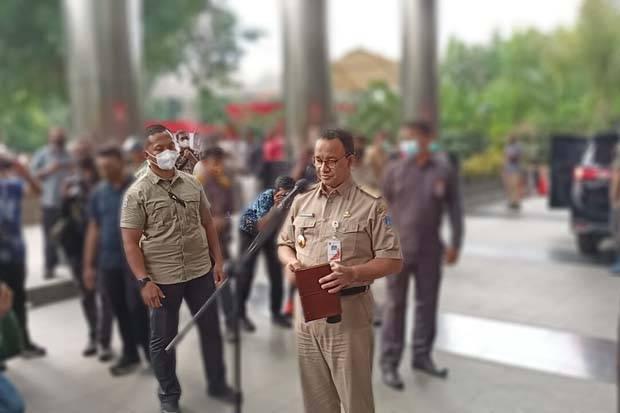 Usai Diperiksa, Anies Berharap Kehadirannya Bantu KPK Berantas Korupsi