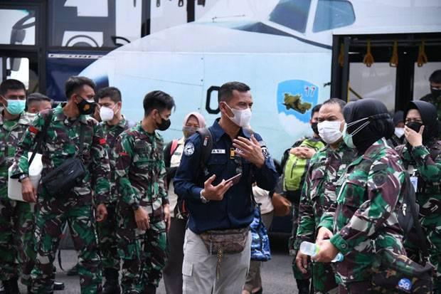 Gelar Vaksinasi di Yogyakarta, TNI AU Targetkan 26.000 Dosis Vaksin Tahap II