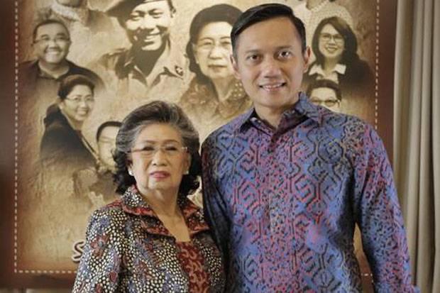 Memori SBY dan AHY Kenang Almarhumah Ibu Ageng