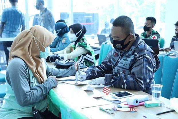 Serbuan Vaksinasi di UIN Lampung, Panglima TNI Tekankan Pentingnya Sinergi