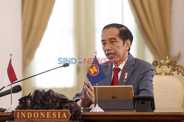 Jokowi: Percepatan Vaksinasi dan Penerapan Prokes Kunci Pengendalian Covid-19