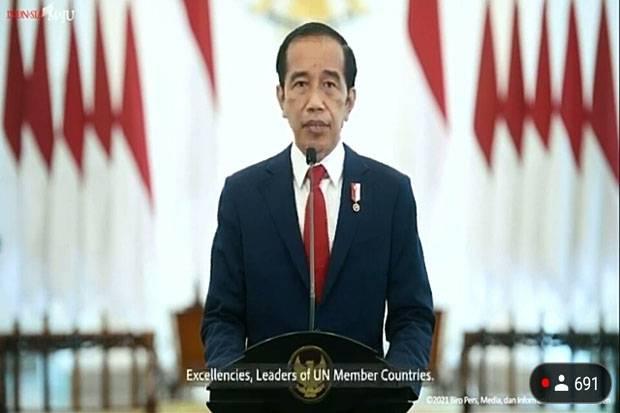 Pidato di Sidang Umum PBB, Jokowi Singgung Marginalisasi Perempuan di Afghanistan