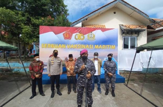 TNI AL Genjot Vaksinasi di Cianjur