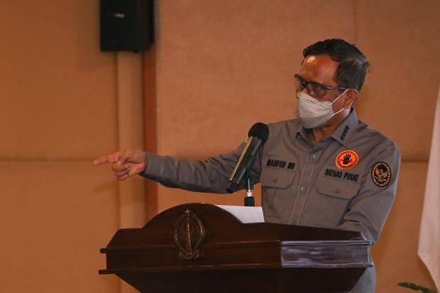 Soal Pembakaran Mimbar Masjid, Mahfud MD: Jangan Terburu-buru Putuskan Pelaku Gila