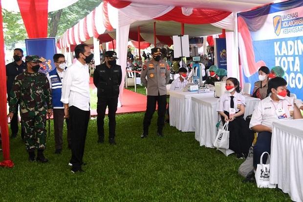 Survei Indikator: 61,8% Masyarakat Puas Kinerja Jokowi Tangani Pandemi Covid-19