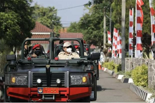 Kunjungi Pusdiklatpassus Kopassus, Prabowo Ingatkan TNI Harus Siap Hadapi Ancaman Militer