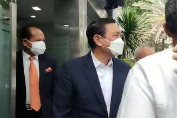 Tiba di Polda Metro Jaya, Luhut Siap Beri Keterangan