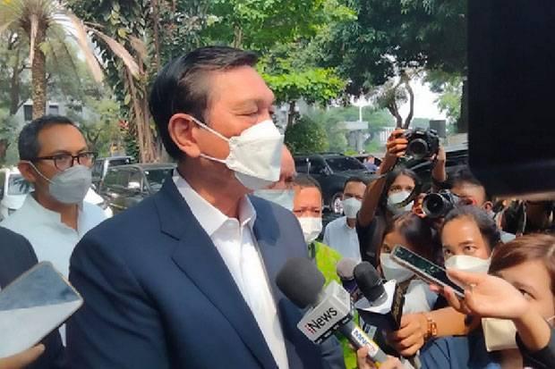 Usai Beri Keterangan, Luhut Tegaskan Lanjut ke Pengadilan