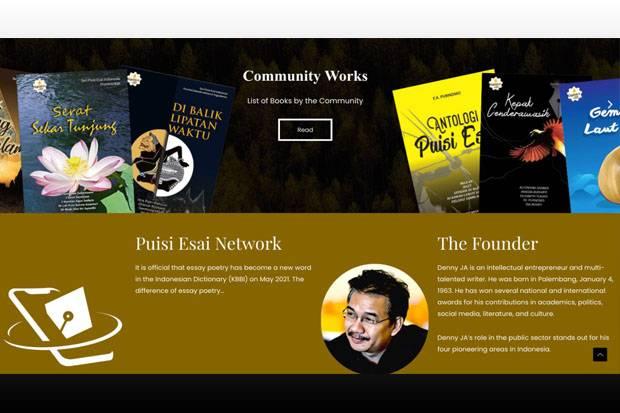 Web Puisi Esai versi Bahasa Inggris Resmi Diluncurkan