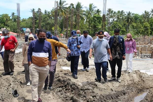 Kemnaker Tinjau Lokasi Pilot Project Kawasan Agromaritim Teluk Weda