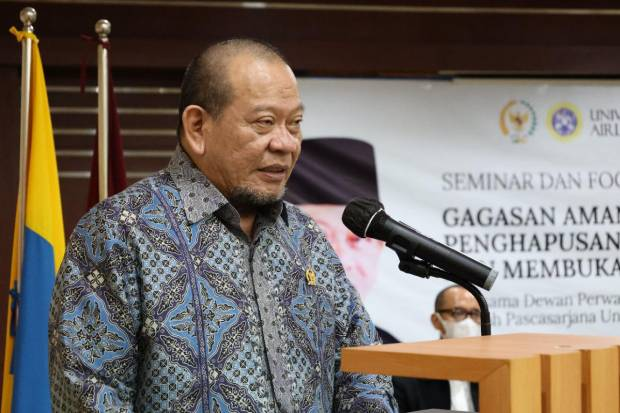 Ketua DPD Sebut Oligarki Penyebab Ketidakadilan Sosial di Negeri Ini