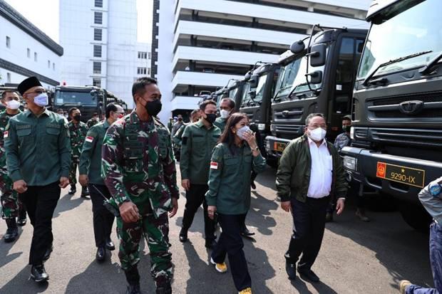 TNI AD Distribusikan 353 Unit Kendaraan Dinas