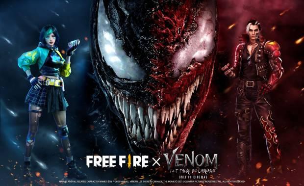 Cara Mendapatkan Item Eksklusif Free Fire x Venom: Let There Be Carnage