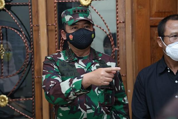 60 Pati TNI Terima Kenaikan Pangkat Satu Tingkat, Berikut Daftar Lengkapnya