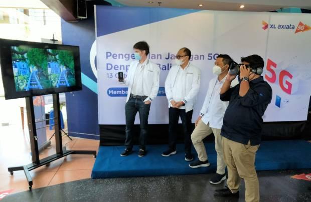 Tak Ingin Ketinggalan, XL Axiata Mulai Demo Jaringan 5G ke Pelanggan di Denpasar