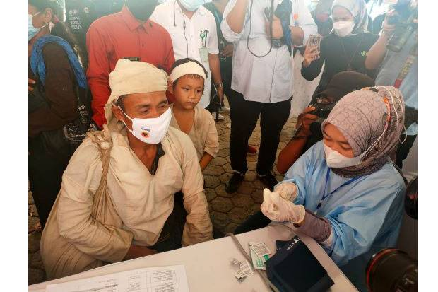 Kemendikbudristek Dukung Vaksinasi Masyarakat Adat Baduy
