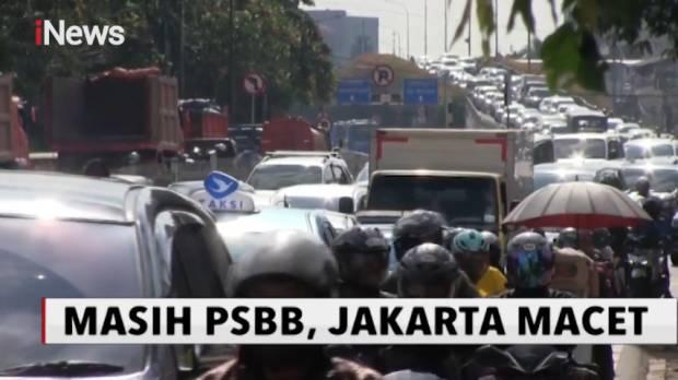 Masih PSBB, Sejumlah Ruas Jalan di Jakarta Kembali Padat