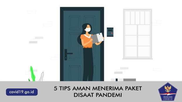5 Tips Aman Menerima Paket Disaat Pandemi Covid-19