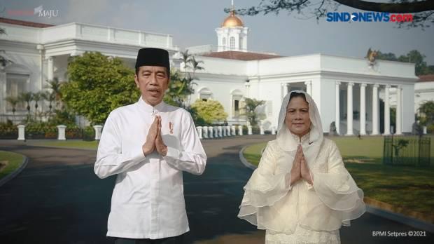 Presiden dan Ibu Negara Ucapkan Selamat Hari Raya Idulfitri 1442 Hijriah