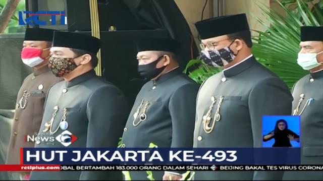VIDEO: Upacara HUT DKI Jakarta Diselenggarakan dengan...