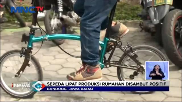 VIDEO Diburu Peminat Sepeda Lipat, Kreuz Produksi...